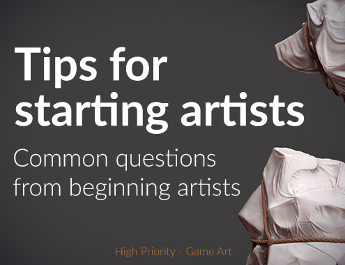 High Priority - Game Art - Starting Artist - feature