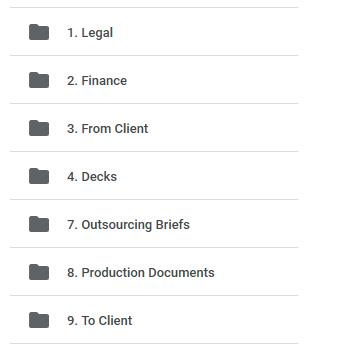High Priority - Game Art - Organizing Work - GoogleDrive