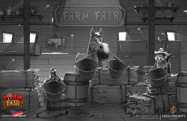 High Priority - 2017 - Farm Fair - Concept Practice