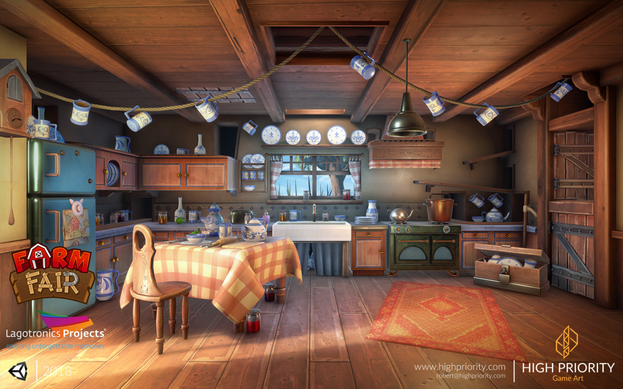 High Priority - 2018 - Farm Fair - Kitchen