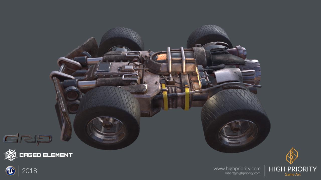 High Priority - 2018 - GRIP Scrap Vehicle - 05