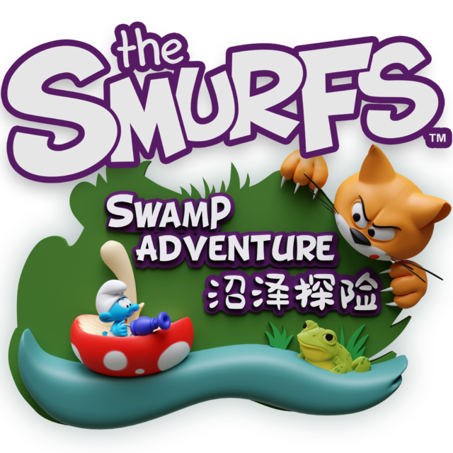 High Priority - 2019 - Smurf Swamp Adventure - Logo 02