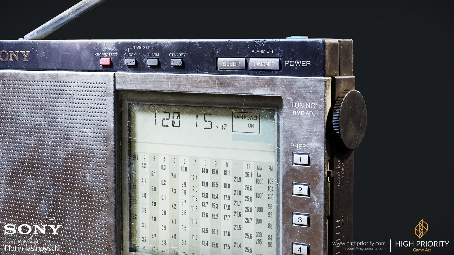 High Priority - Florin - Radio 08