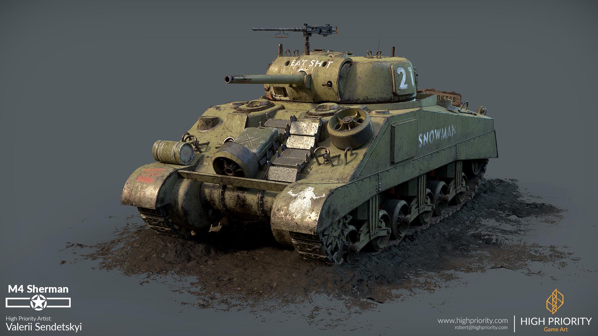 High Priority - Valerii - M4 Sherman - 03