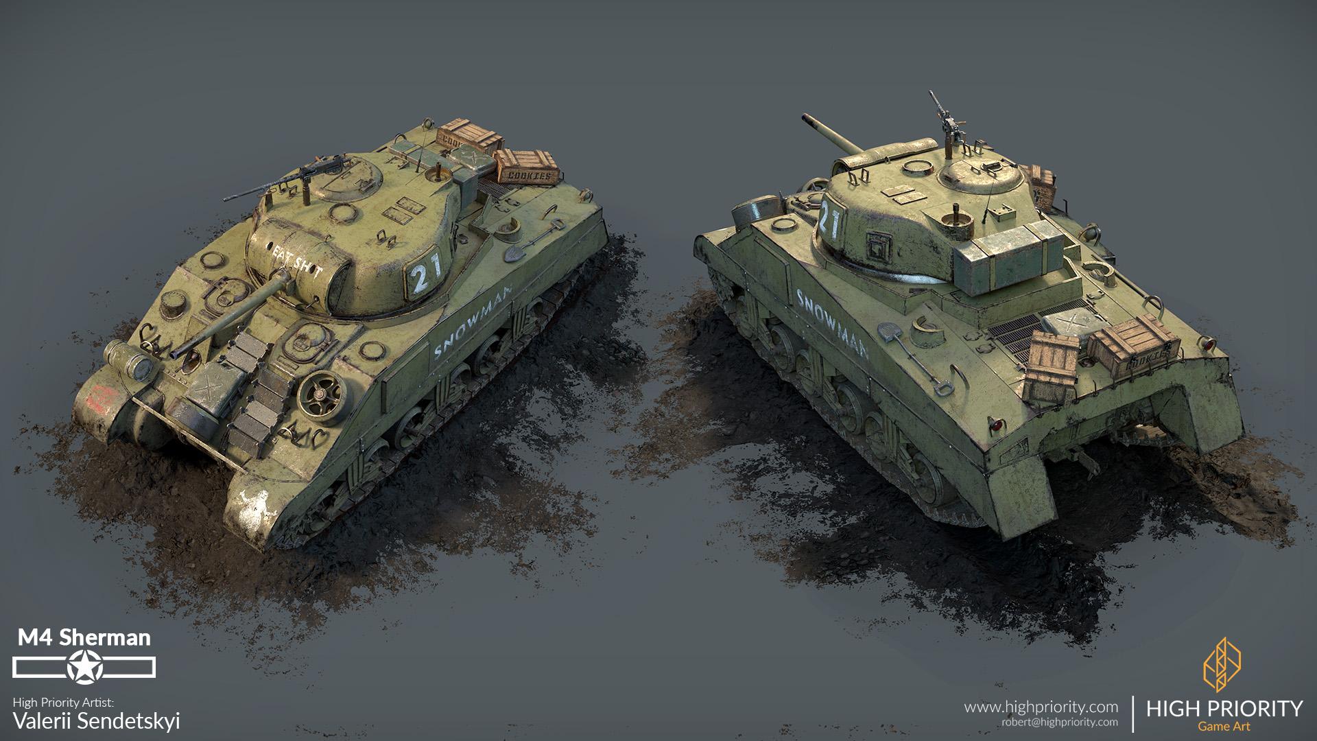 High Priority - Valerii - M4 Sherman - 05