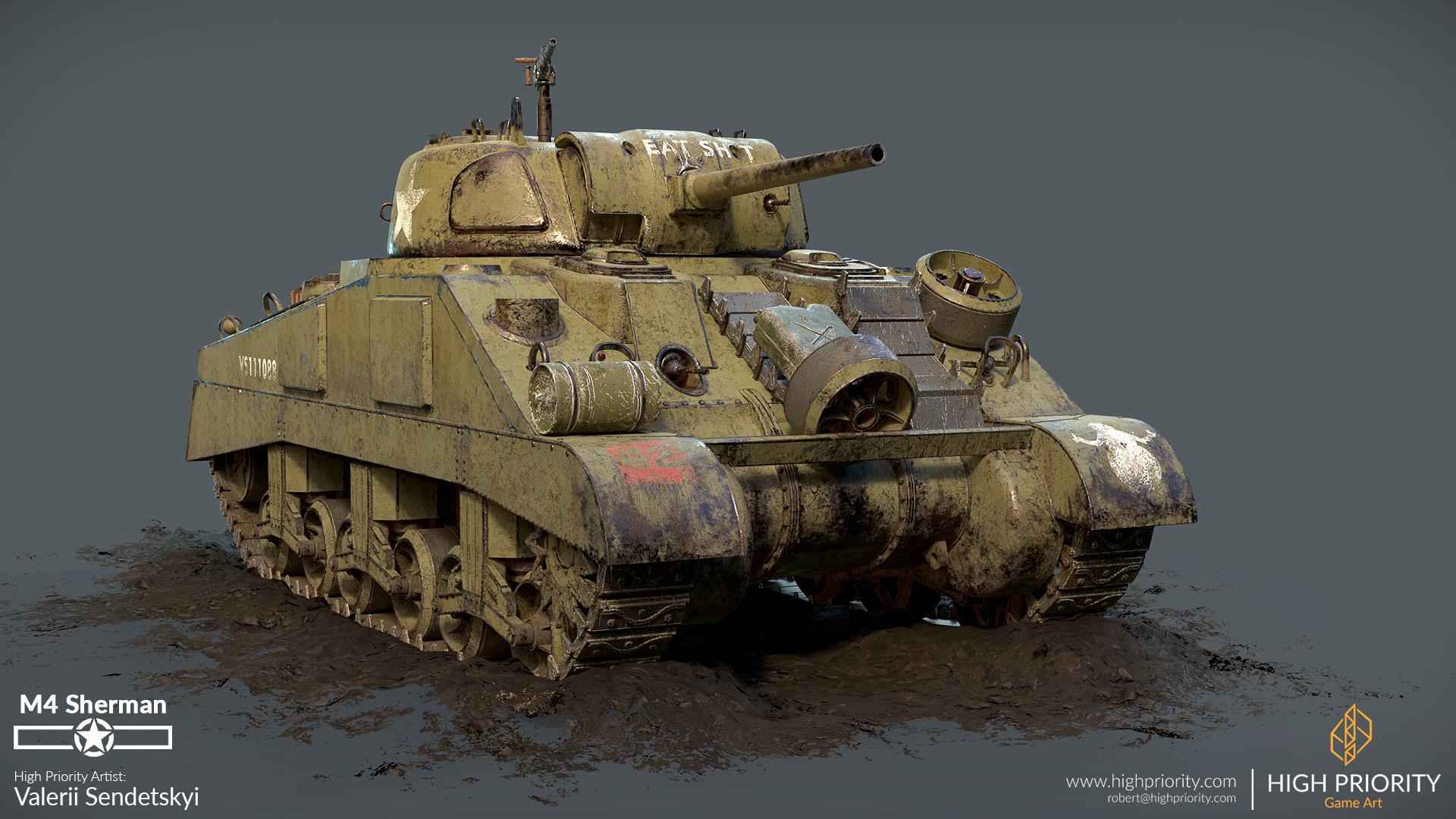 High Priority - Valerii - M4 Sherman - 07