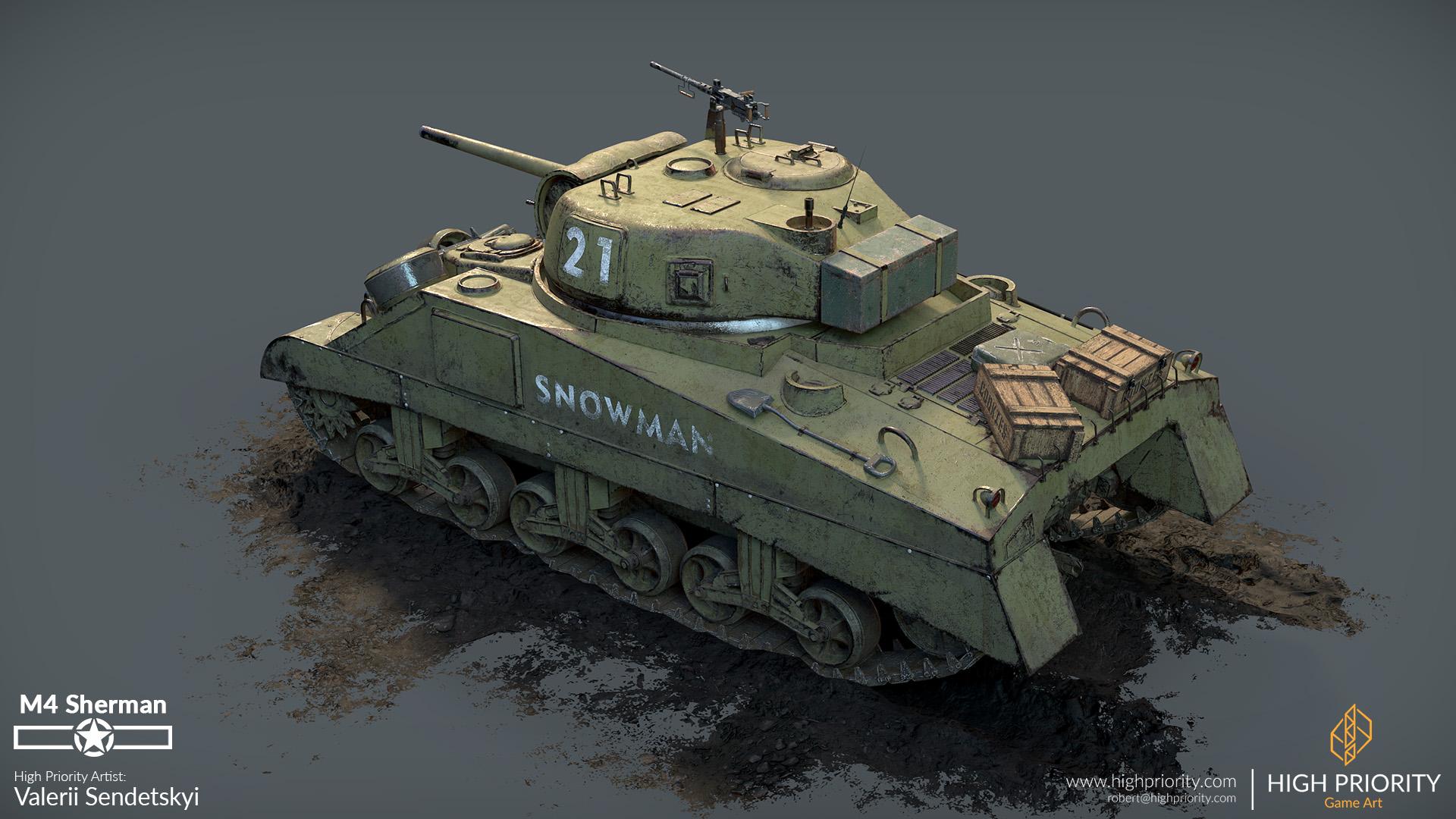 High Priority - Valerii - M4 Sherman - 10
