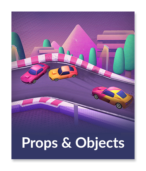 High Priority - Game Art - Props & Objects