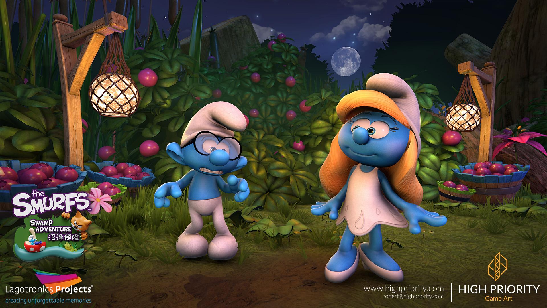High Priority - Smurf Swamp Adventure - 01