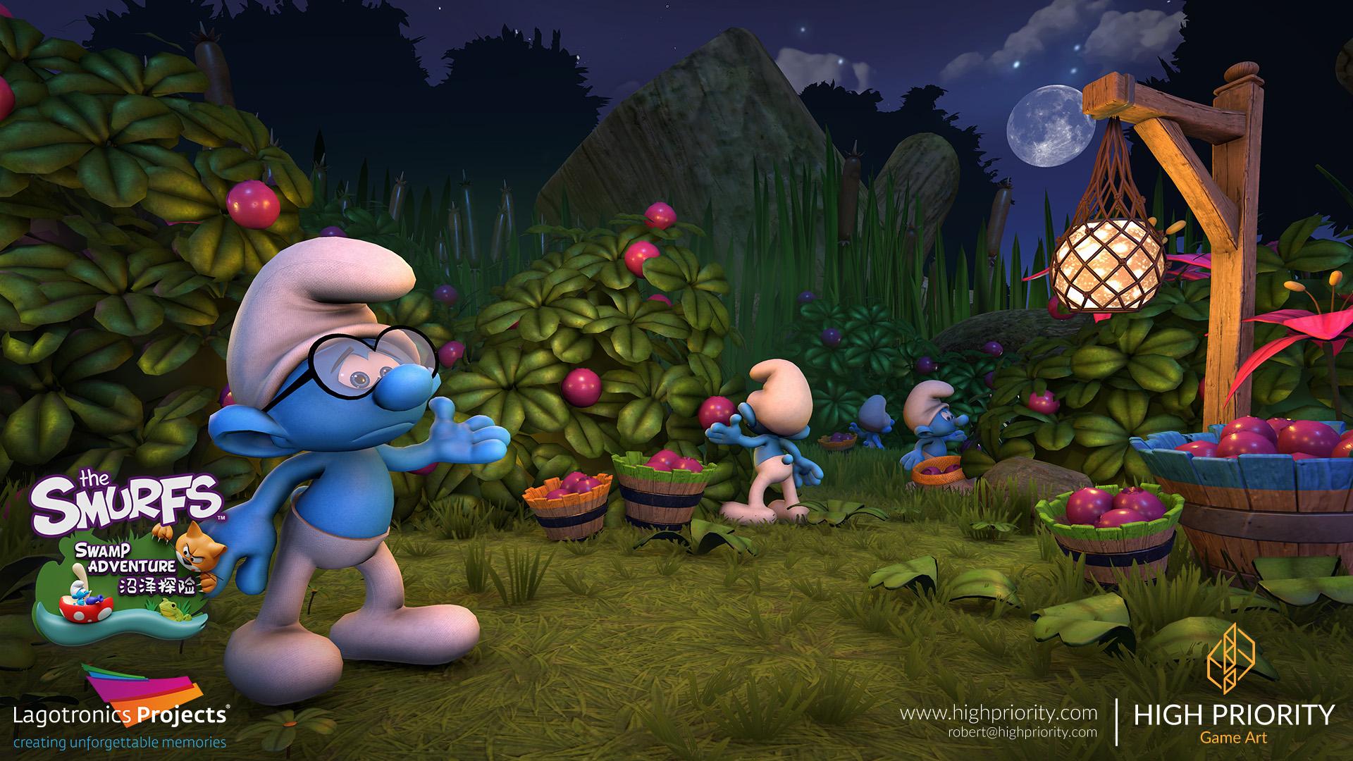 High Priority - Smurf Swamp Adventure - 02