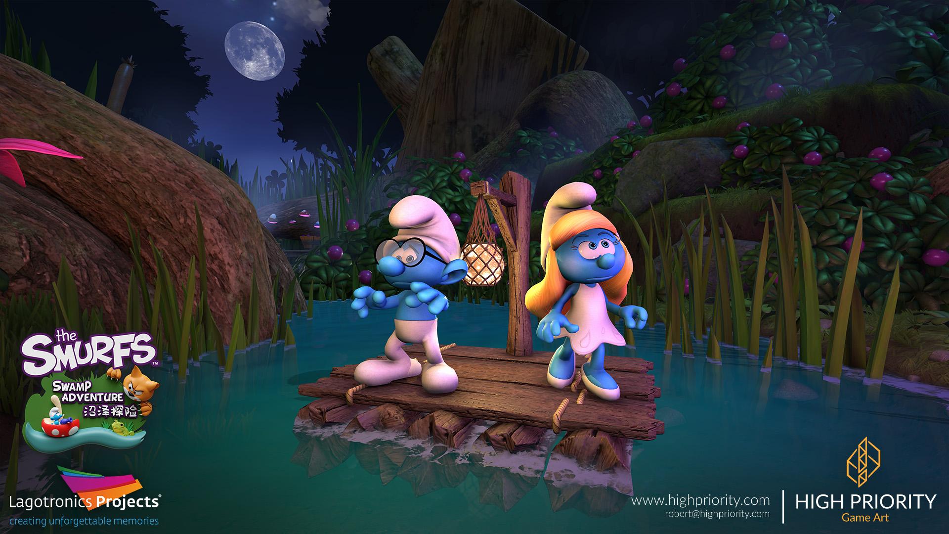 High Priority - Smurf Swamp Adventure - 04