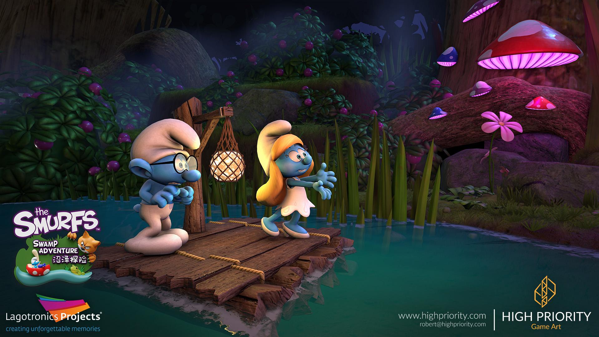 High Priority - Smurf Swamp Adventure - 05
