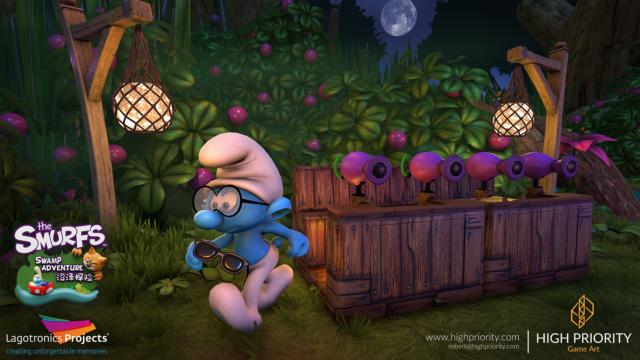High Priority - Smurf Swamp Adventure - 08