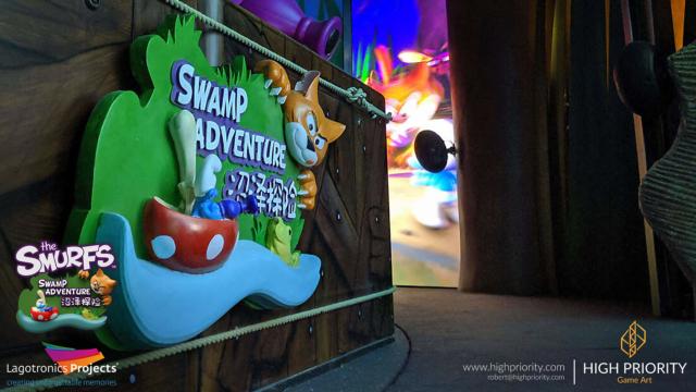 Smurf Swamp Adventure - P05