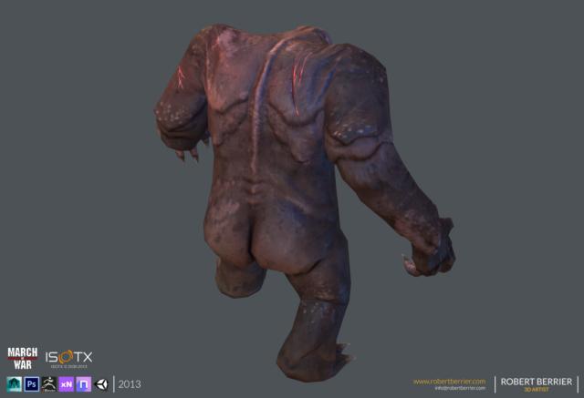 Robert Berrier - 2013 - March of War - Gorilla Mole - 08