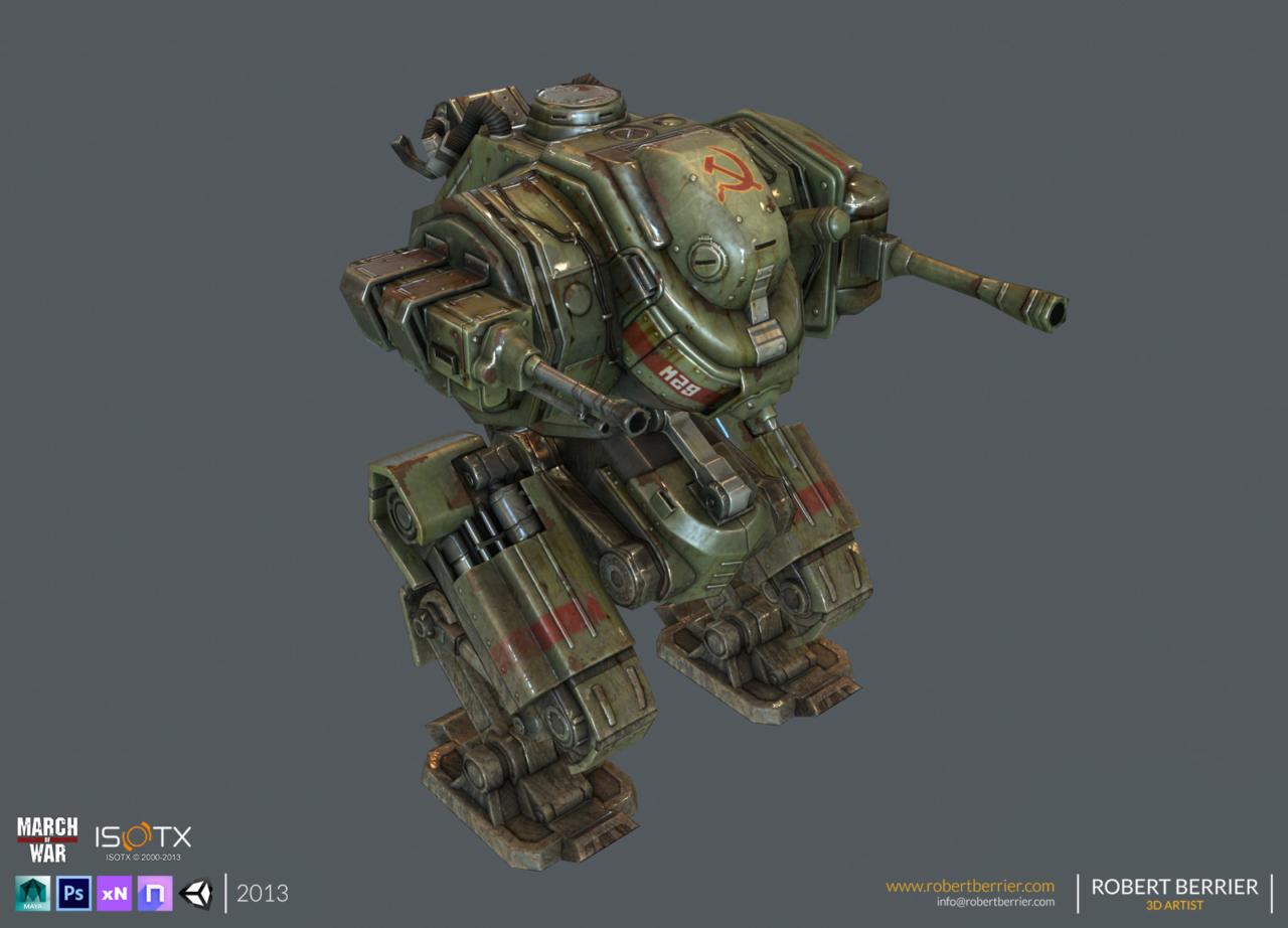 Robert Berrier - 2013 - March of War - Hammer - 01