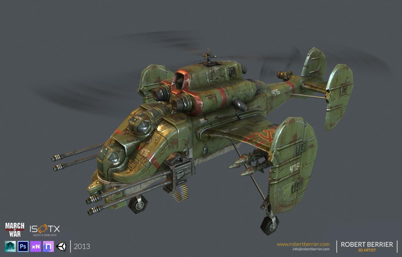 Robert Berrier - 2013 - March of War - Sickle - 01