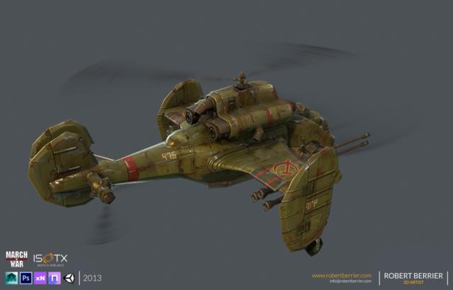 Robert Berrier - 2013 - March of War - Sickle - 04