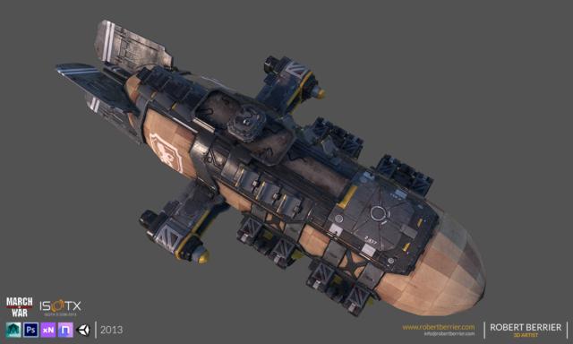 Robert Berrier - 2013 - March of War - War Zeppelin - 03