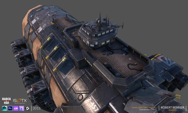 Robert Berrier - 2013 - March of War - War Zeppelin - 06