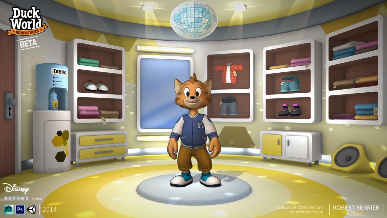 Robert Berrier - 2014 - Disney Duck World - B-Cool Shop