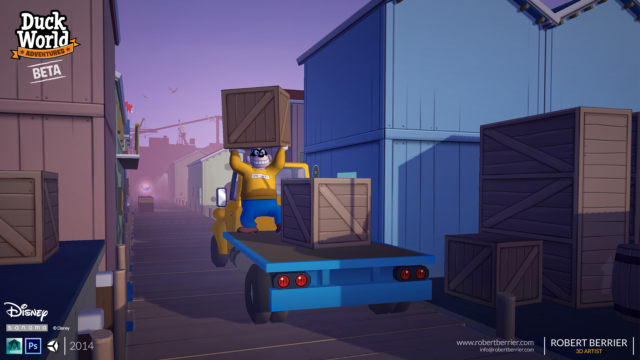 Robert Berrier - 2014 - Disney Duck World - Chase the Truck Intro