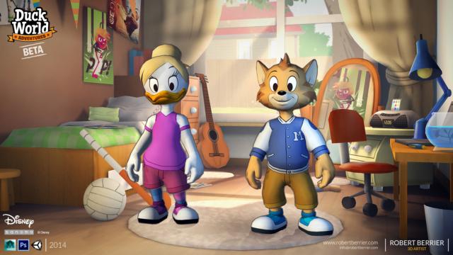Robert Berrier - 2014 - Disney Duck World - Wardrobe