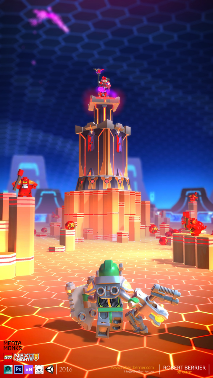Robert Berrier - 2016 - Lego Nexo Knigths - In Game Arron