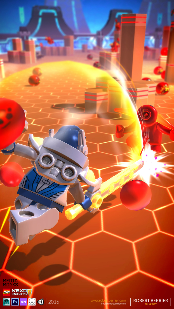 Robert Berrier - 2016 - Lego Nexo Knigths - In Game Clay