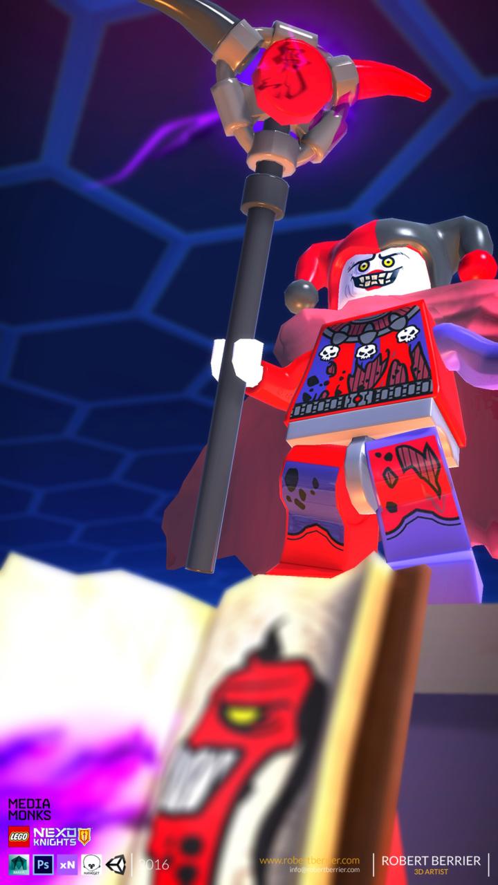 Robert Berrier - 2016 - Lego Nexo Knigths - In Game Jestro