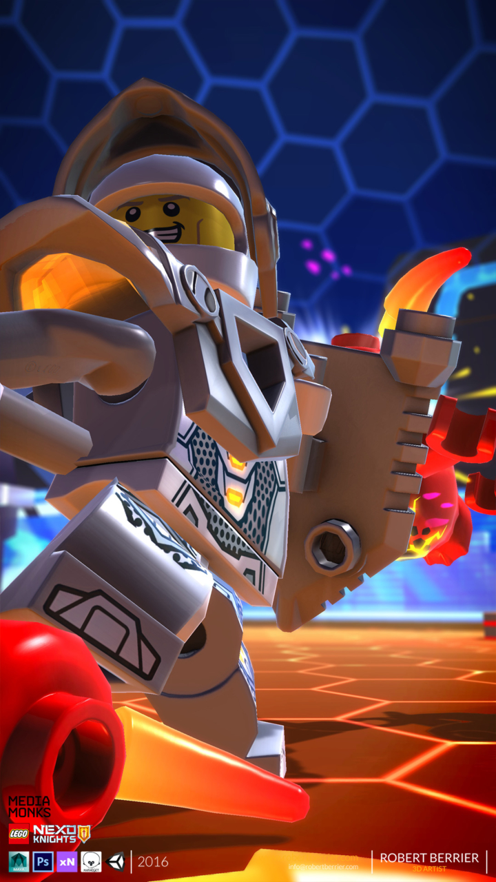 Robert Berrier - 2016 - Lego Nexo Knigths - In Game Lance