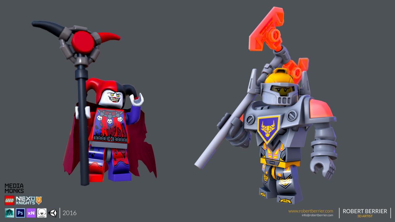 Robert Berrier - 2016 - Lego Nexo Knigths - Jestro
