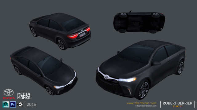 Robert Berrier - 2016 - Toyota Camry - 02