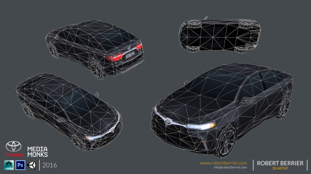 Robert Berrier - 2016 - Toyota Camry - 02 Wire