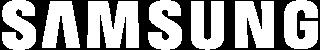 Samsung logo white